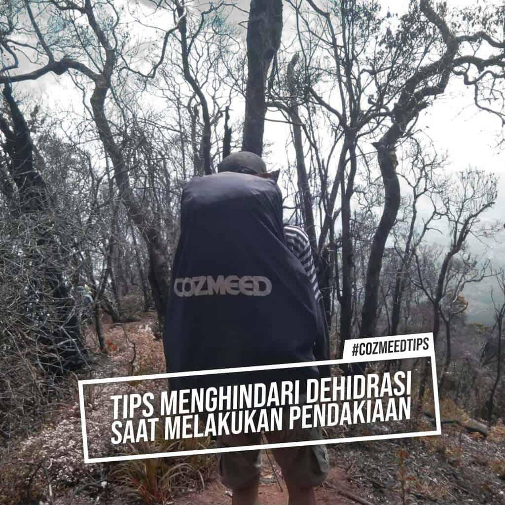 TIPS MENGHINDARI DEHIDRASI SAAT PENDAKIAN 11