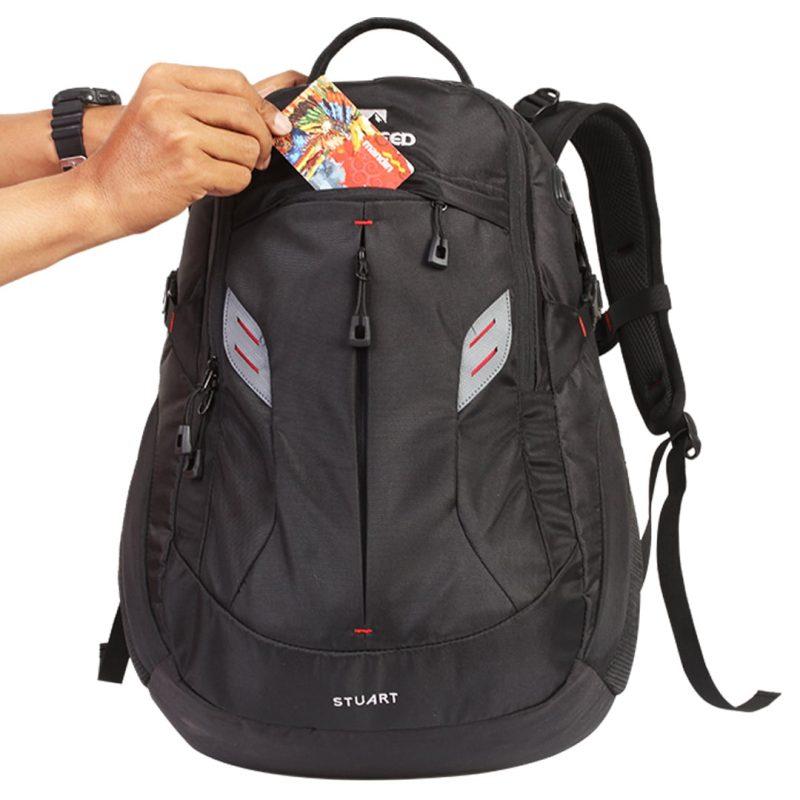 Gambar Tas Daypack Stuart 25L Hitam 6