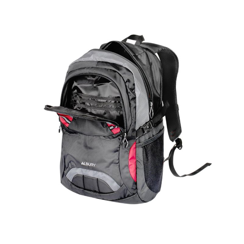 tas daypack cozmeed albury hitam 25L