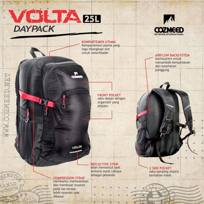 Gambar Tas Daypack 1228 Volta 1