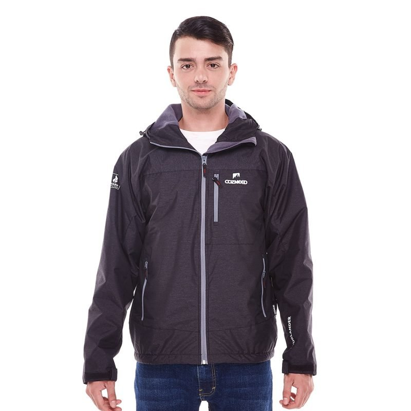 Gambar Jaket Fourlander Dark Grey 1