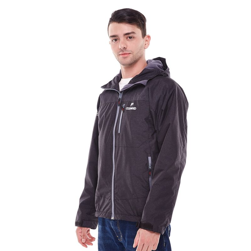 Gambar Jaket Fourlander Dark Grey 3