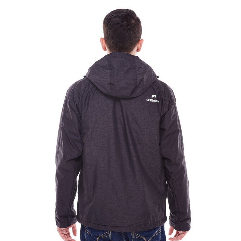 Gambar Jaket Fourlander Dark Grey 7