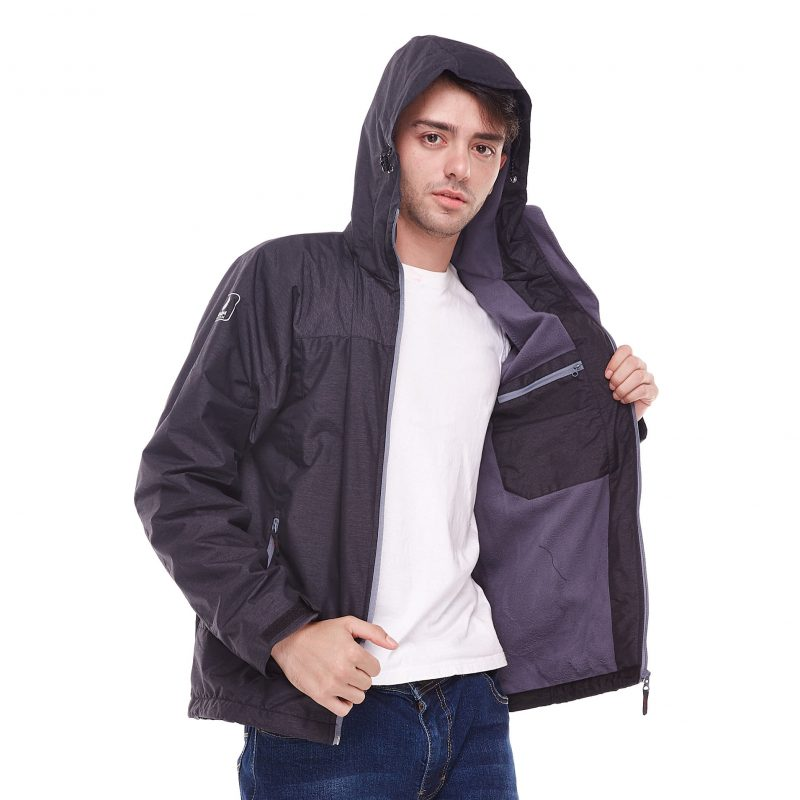 Gambar Jaket Fourlander Dark Grey 5