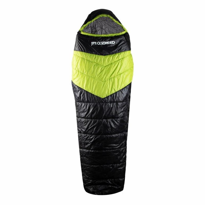 Gambar Sleeping Bag Dacron Black Green 1