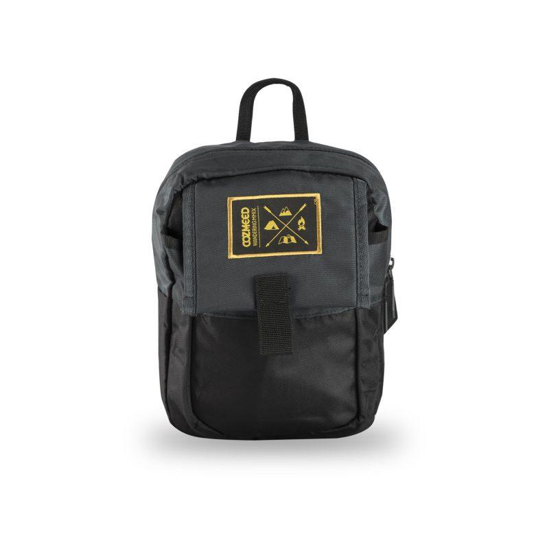 Gambar Tas Travel Pouch Itamogi 1.1 Black Grey 1