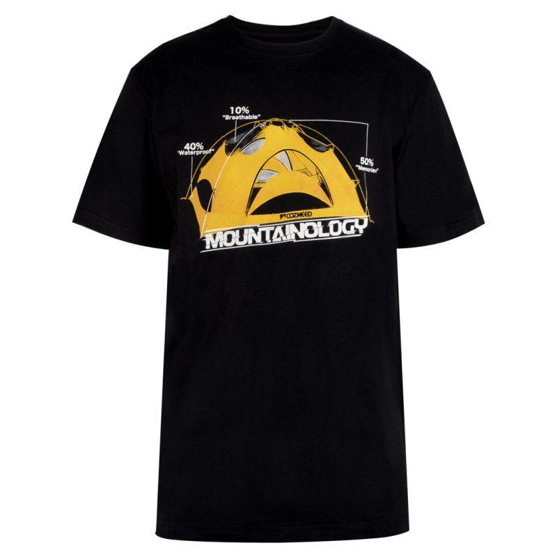 Gambar T-Shirt Mountainology Tent Hitam 1
