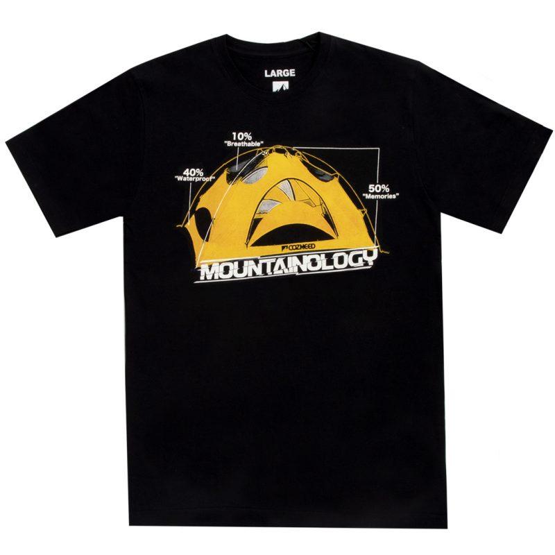 Gambar T-Shirt Mountainology Tent Hitam 3
