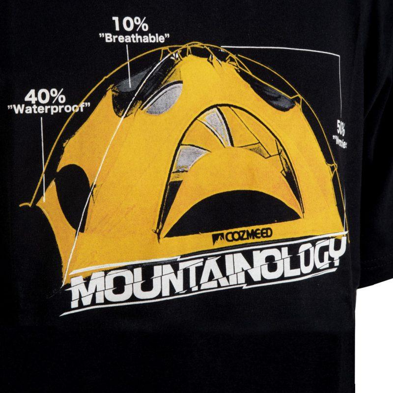 Gambar T-Shirt Mountainology Tent Hitam 2
