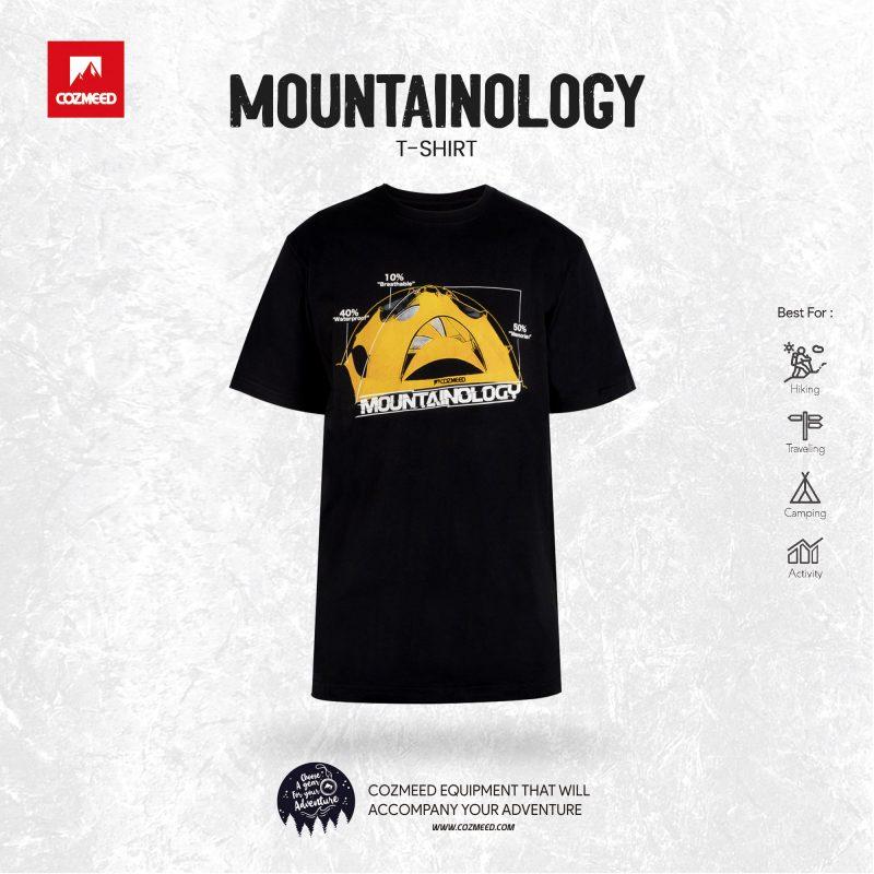 Gambar T-Shirt Mountainology Tent Hitam 7