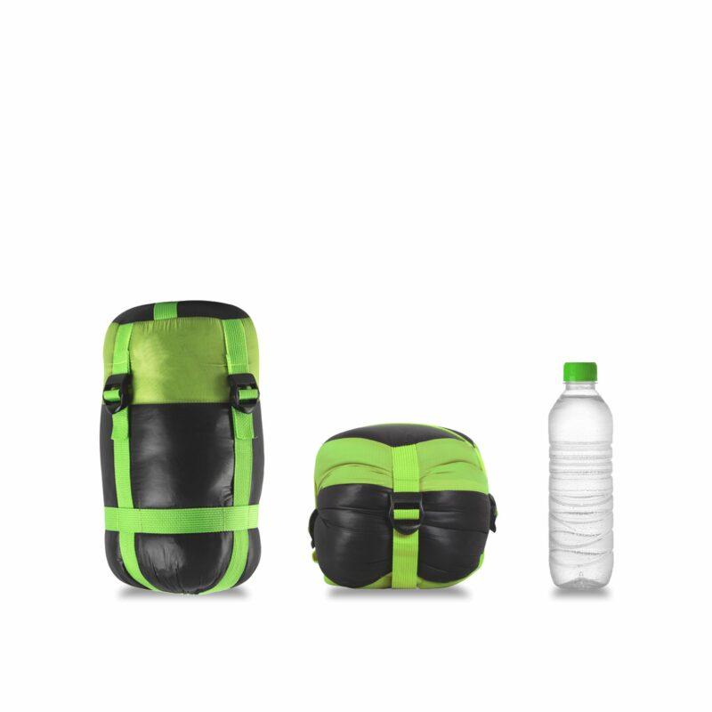 Gambar Sleeping Bag Bulang Down Black Green 8