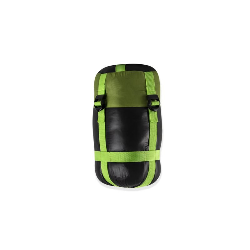 Gambar Sleeping Bag Bulang Down Black Green 4