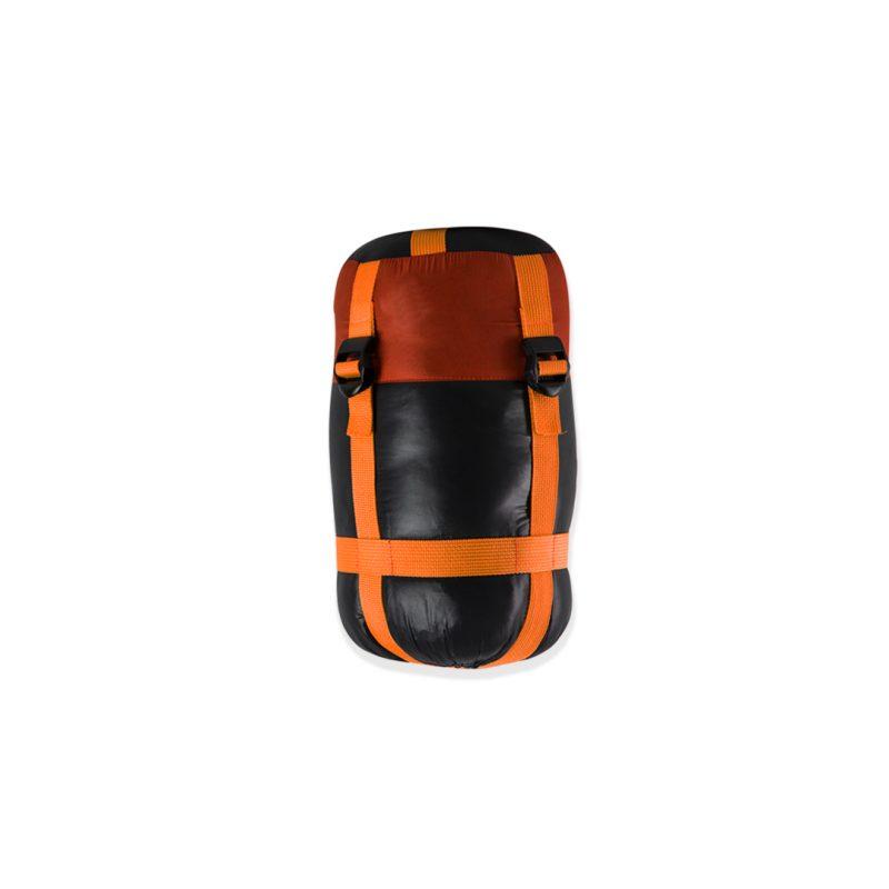 Gambar Sleeping Bag Bulang Down Black Orange 6