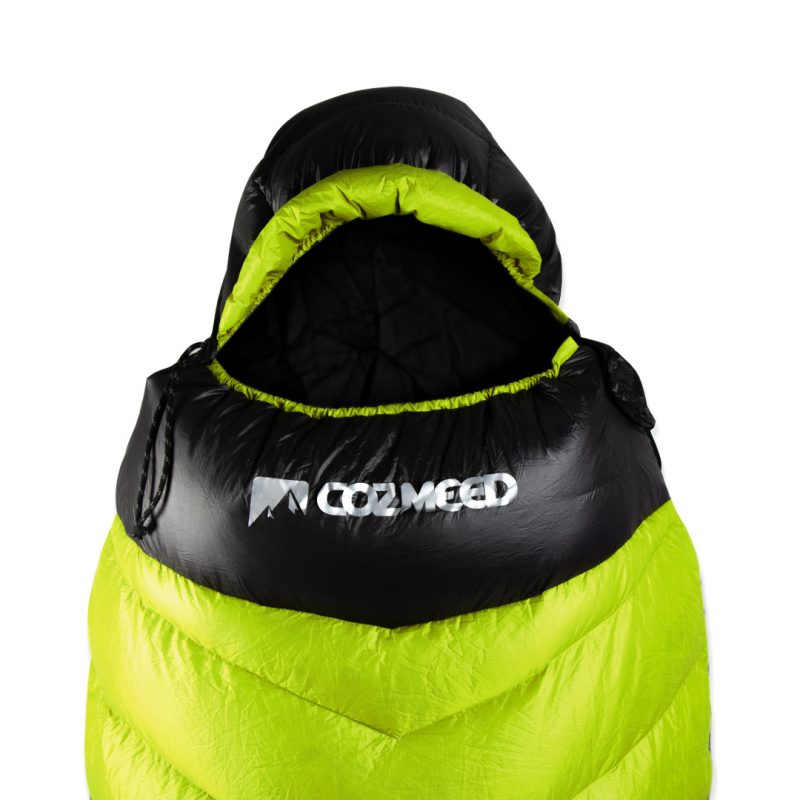 Gambar Sleeping Bag Bulang Down Black Green 2