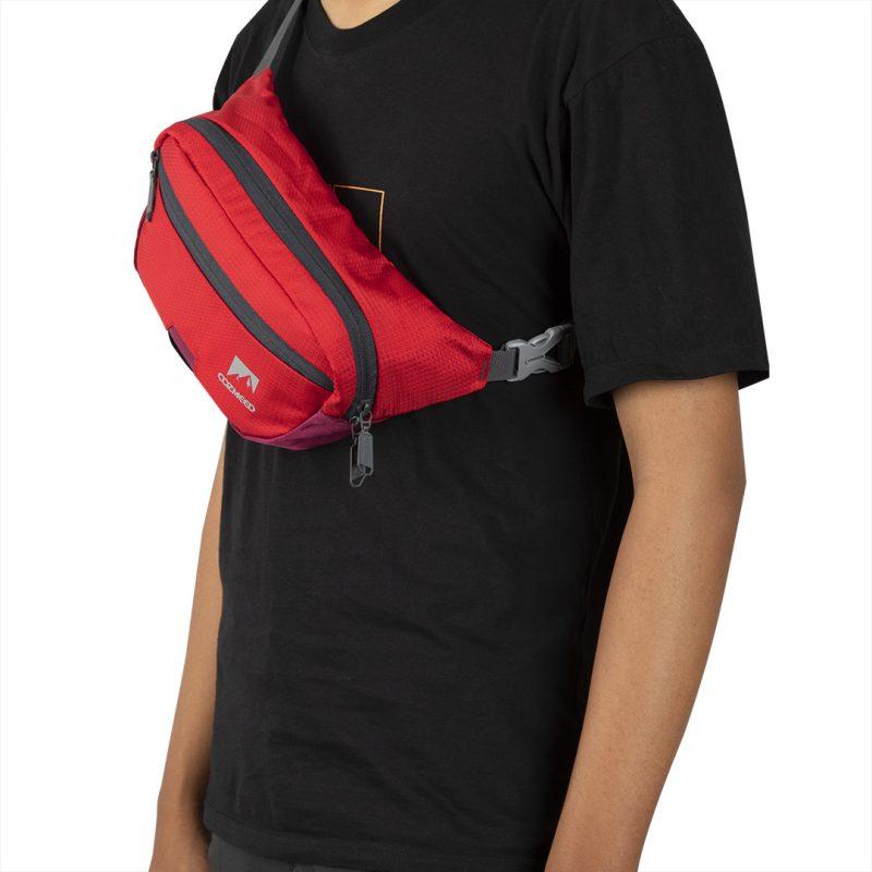 Gambar Tas Pinggang Trickle Merah 10