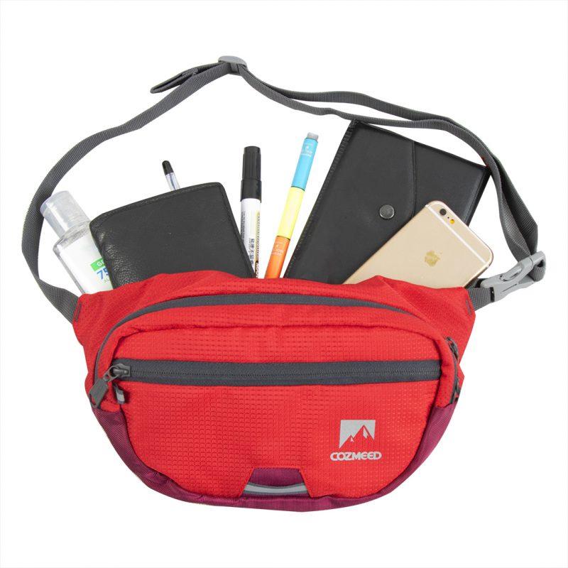 Gambar Tas Pinggang Trickle Merah 12