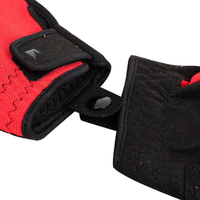 Gambar Sarung Tangan Half Giro Merah 5