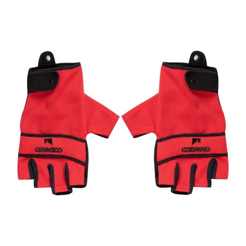 Gambar Sarung Tangan Half Raido Merah 3
