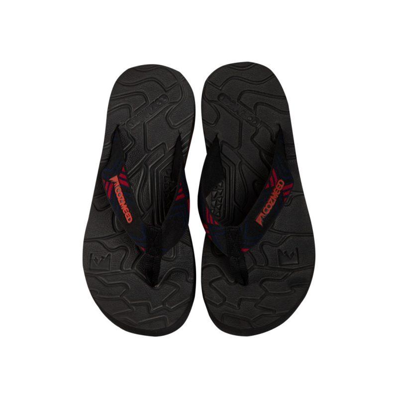 Gambar Sandal Jepit Hakimono Red 3
