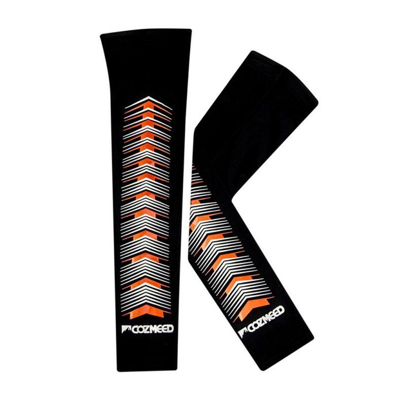 Gambar Manset Olahraga Arm Sleeve Pesce Orange 1