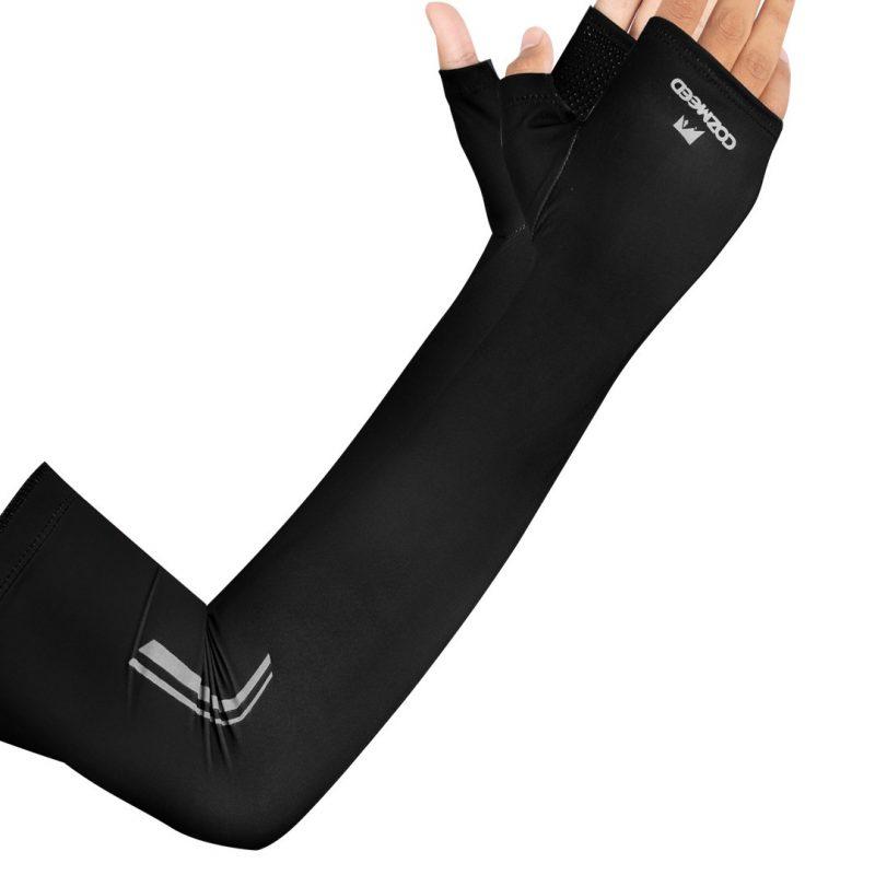 Gambar Manset Olahraga Arm Sleeve JP Burano Hitam 3