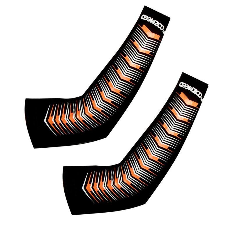 Gambar Manset Olahraga Arm Sleeve Pesce Orange 2