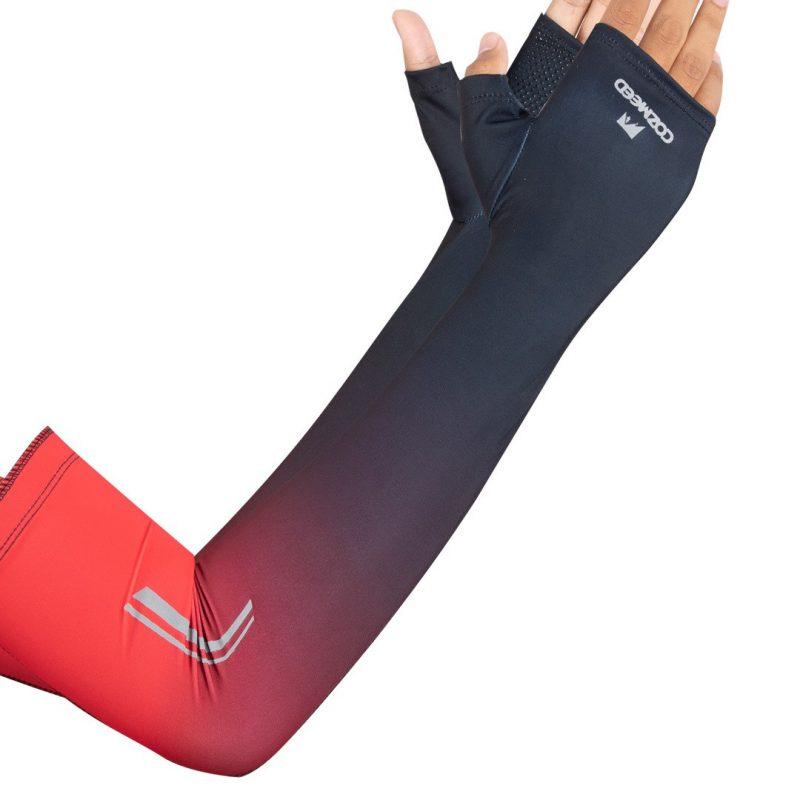 Gambar Manset Olahraga Arm Sleeve JP Burano Merah 3