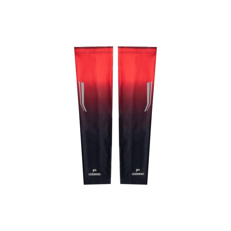 Gambar Manset Olahraga Arm Sleeve Orion Merah Hitam 1