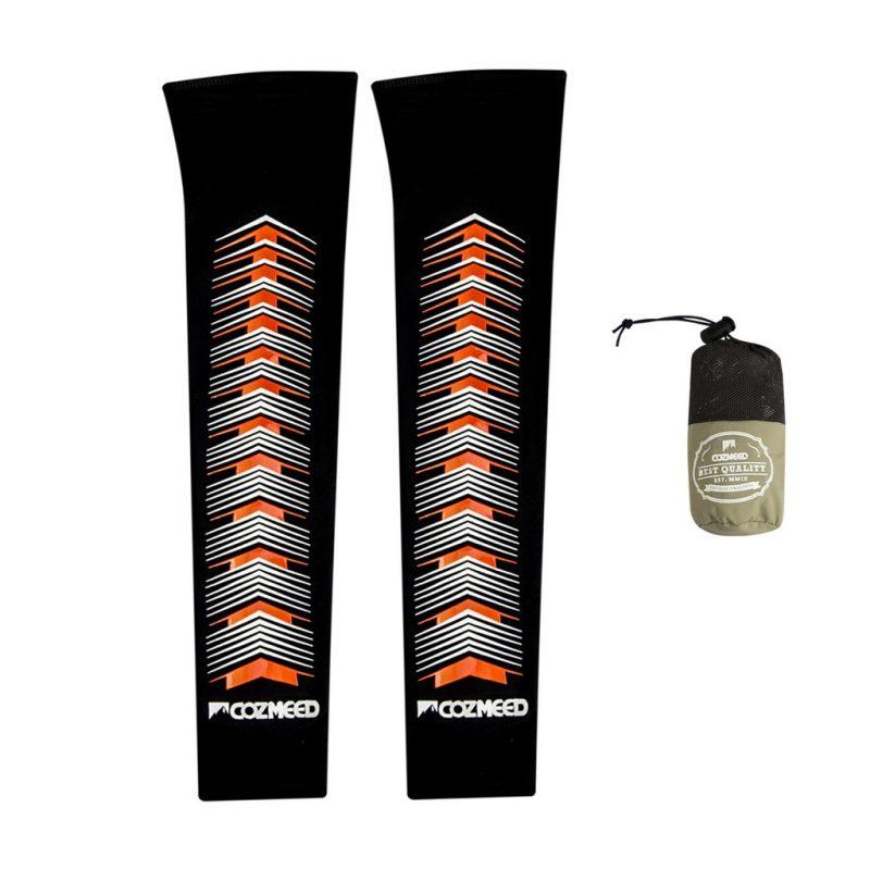 Gambar Manset Olahraga Arm Sleeve Pesce Orange 3