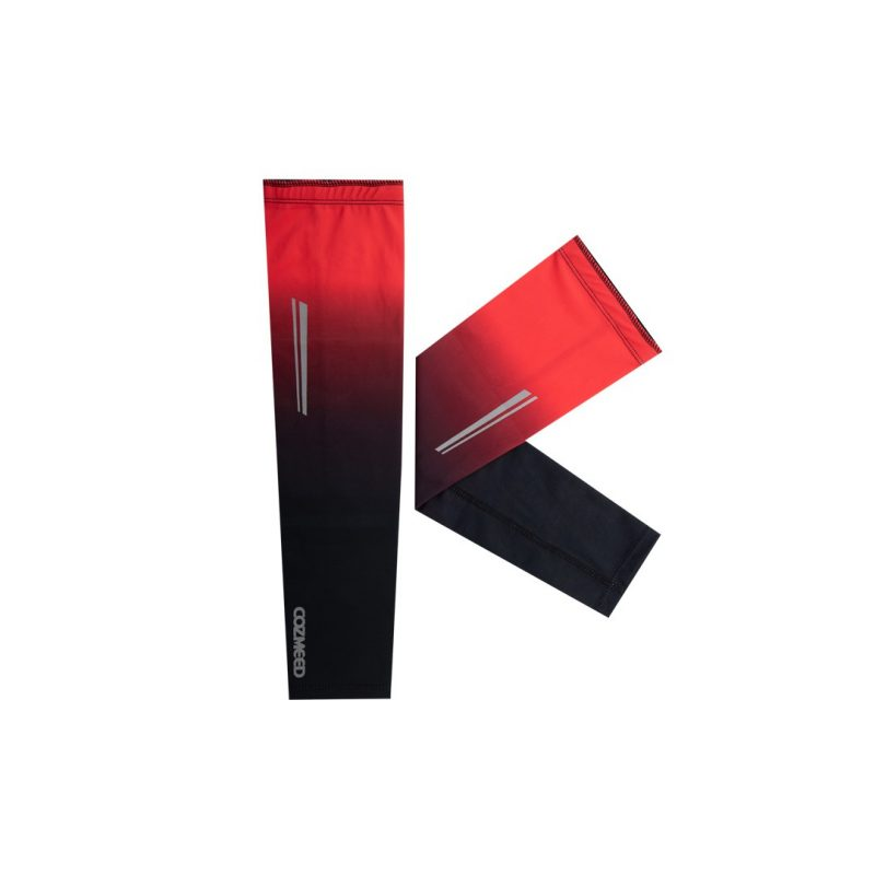 Gambar Manset Olahraga Arm Sleeve Hydra Merah Hitam 2