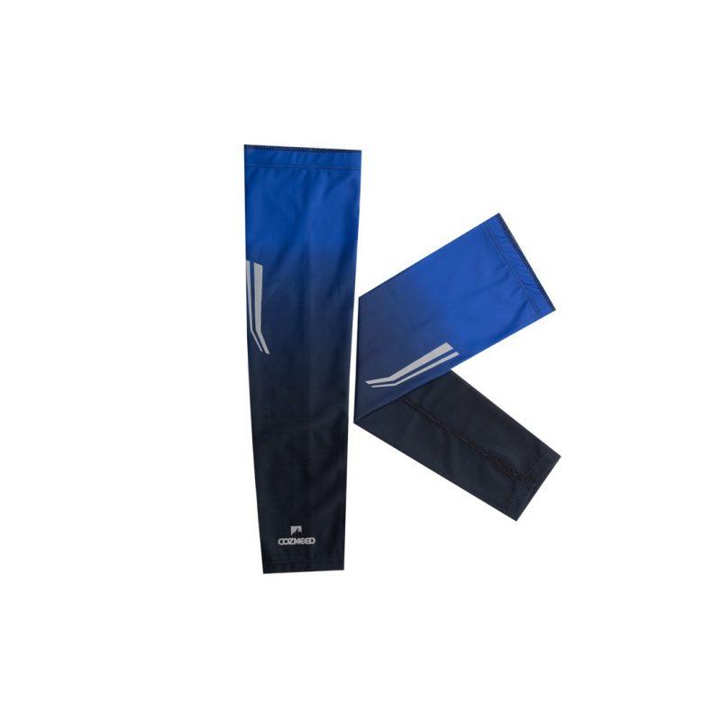 Gambar Manset Olahraga Arm Sleeve Orion Biru Hitam 2