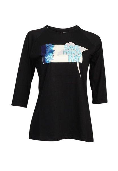 Gambar Kaos T-Shirt Women Series Save Mantaray 1