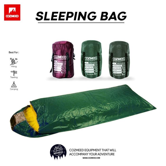 Gambar Sleeping Bag Biru 2