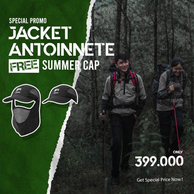 Gambar [FREE GIFT] Jaket Antoinnete Free Topi Summer Cap 1