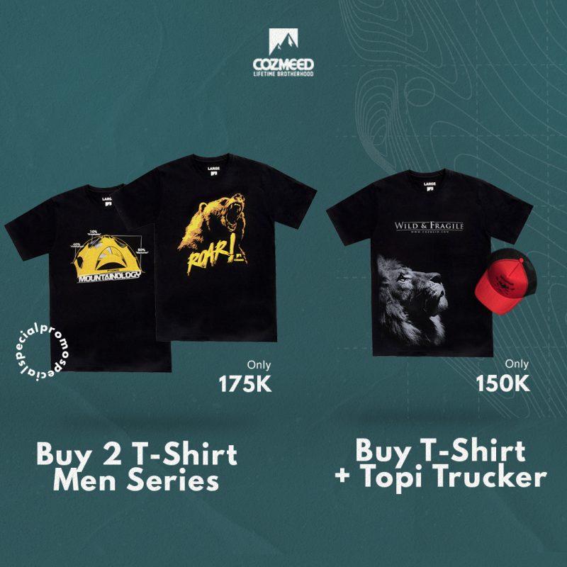 Gambar Promo Bundling 2 T-Shirt Cozmeed 1