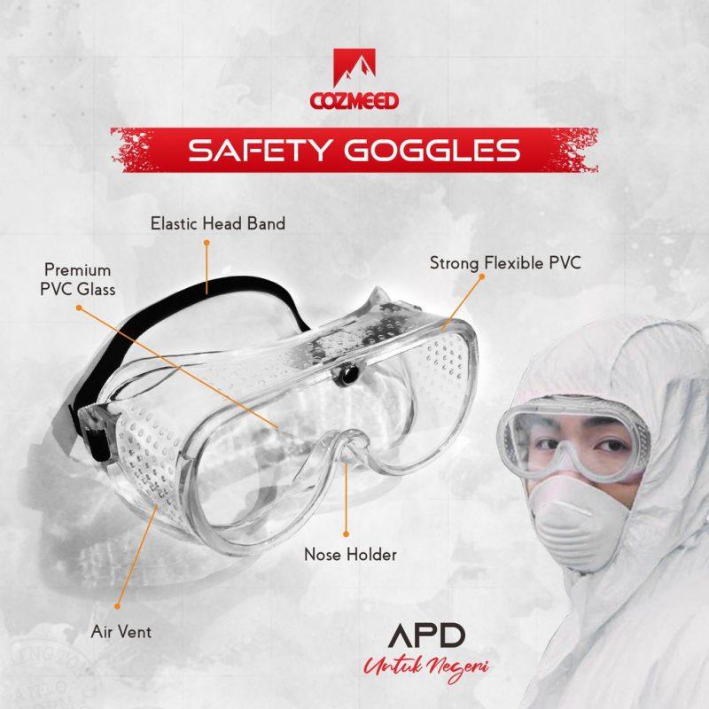 Gambar APD Kacamata Safety Goggle 5