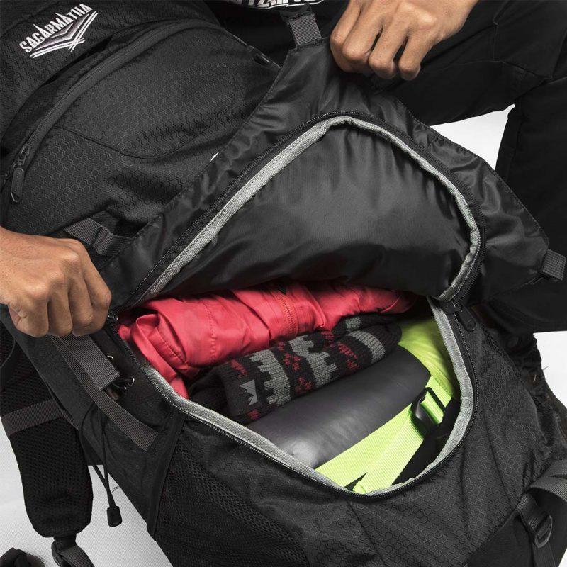 Gambar Tas Carrier Sagarmatha 2.1 Black 13