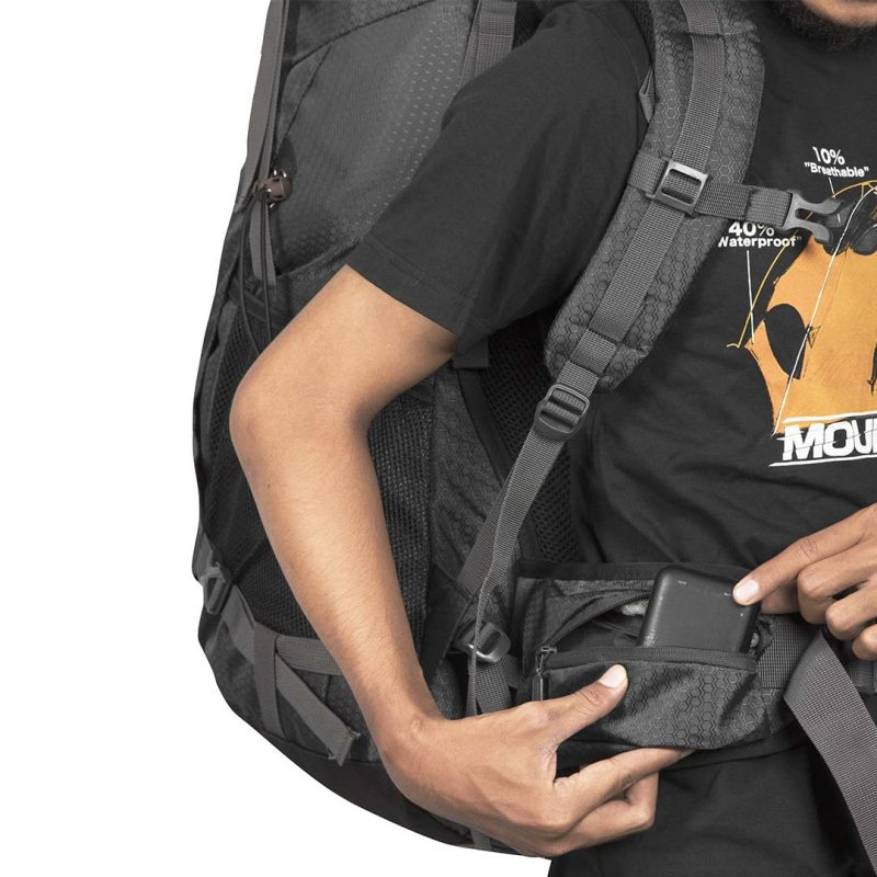Gambar Tas Carrier Sagarmatha 2.1 Black 15