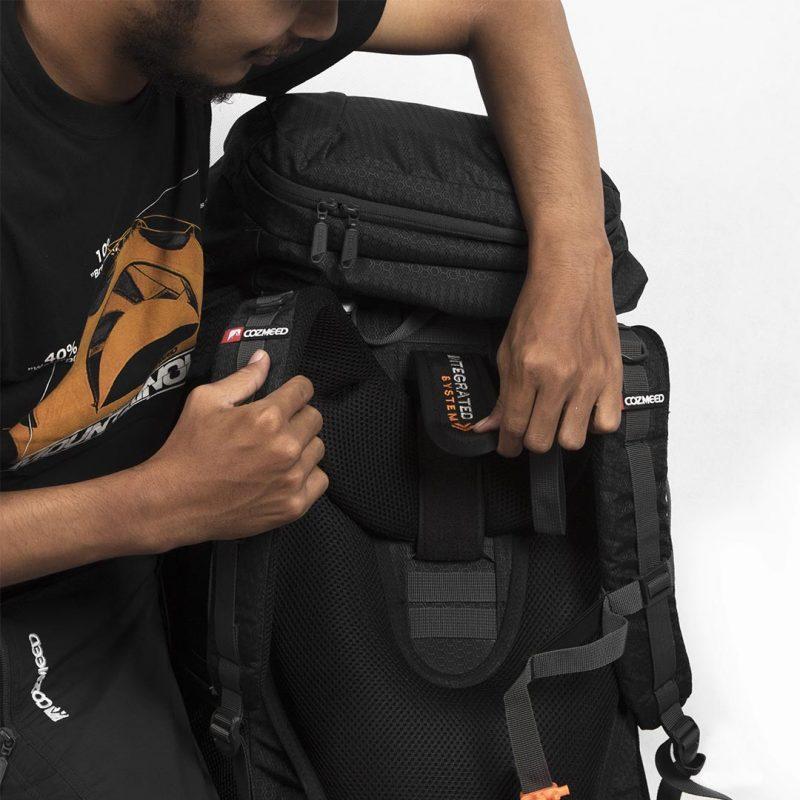 Gambar Tas Carrier Sagarmatha 2.1 Black 16